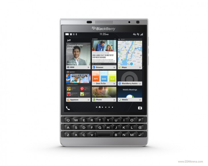 BlackBerry launches the Passport Silver