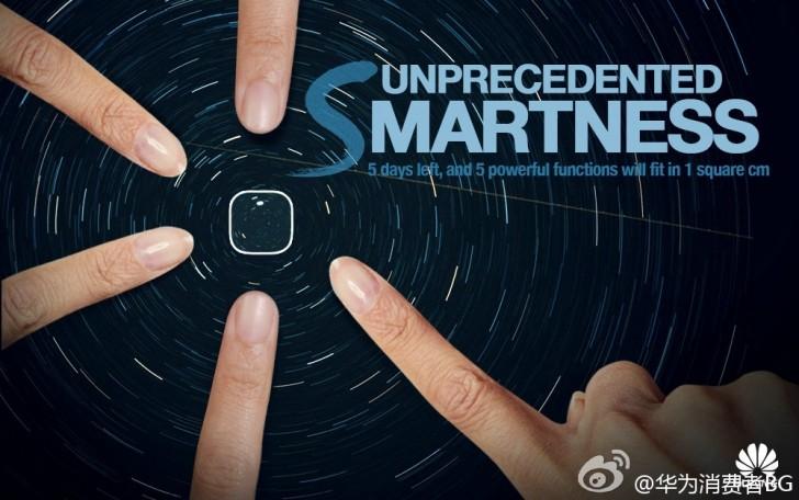 Huawei teases multifunction fingerprint sensor on the Mate 7S