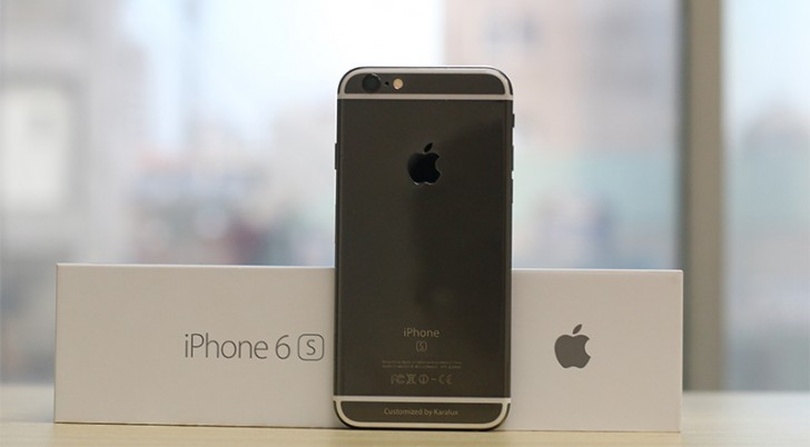 Apple iPhone 6s gets Black Gold coating